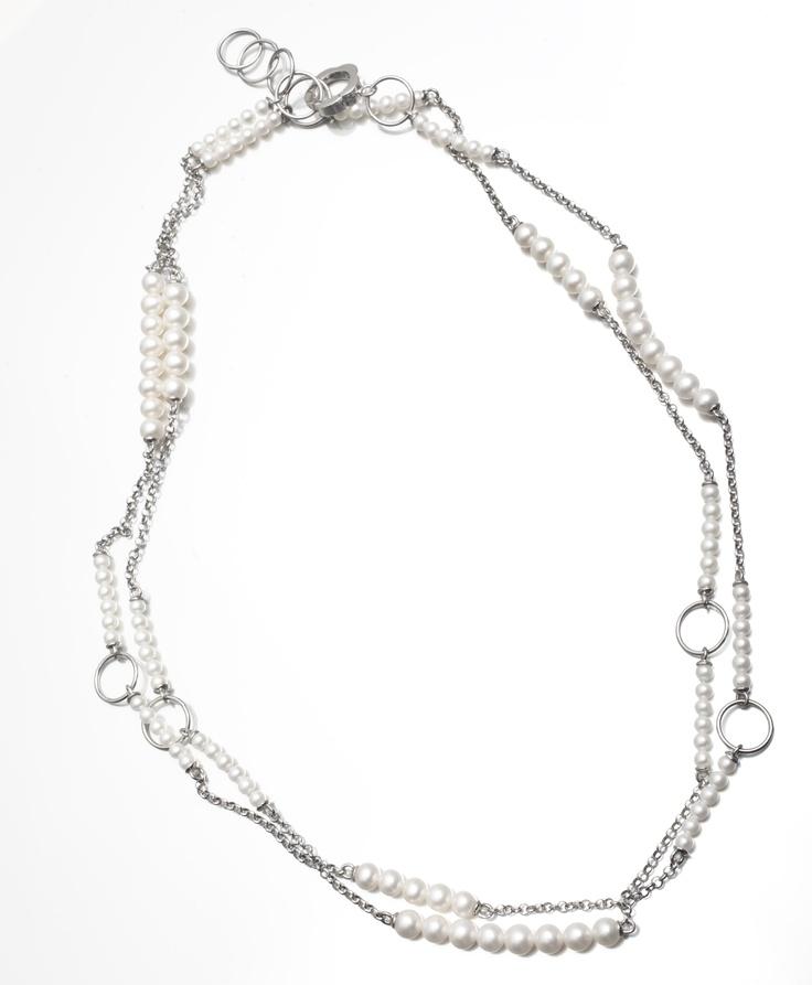 Battiquore Milano | Collana in argento 925 Perle coltivate di acqua dolce