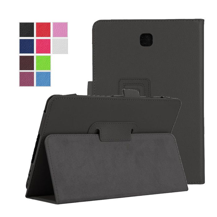 "PU Leather Cover Case for Samsung Galaxy Tab A 8.0 T350 T351 T355 8"" Tablet + 2Pcs Screen Protector #Affiliate"