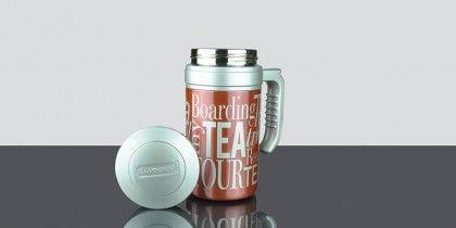 Travel Tea Metallic Red