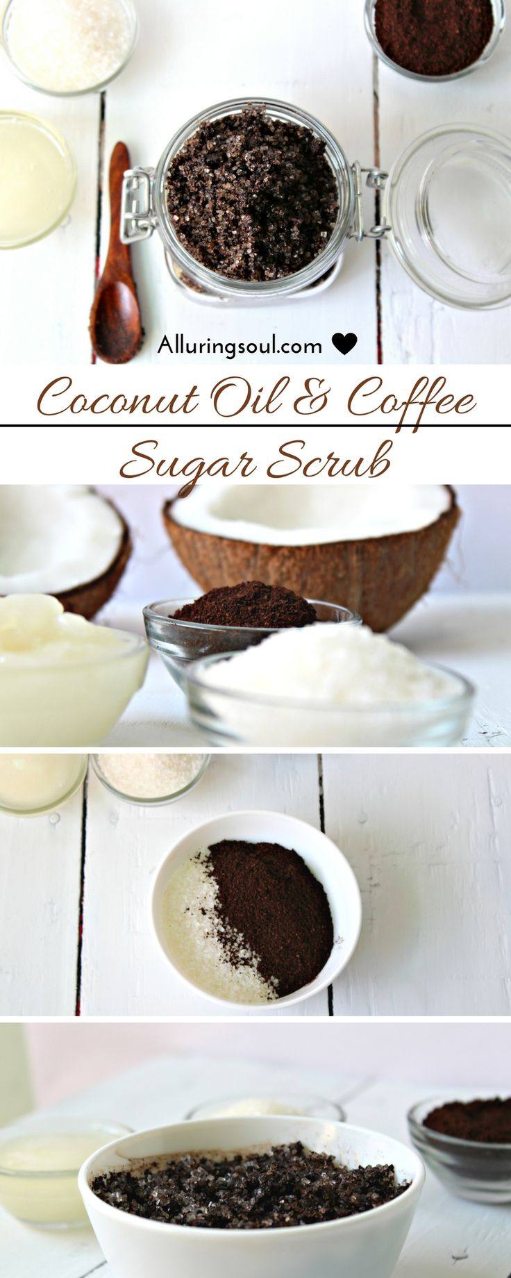 Provide nourishment to your skin with this coffee scrub. It fights free radicals causing wrinkles, exfoliate dead cell and dark spots, brightens, removes cellulite and smoothens out the skin. Provide food to your skin with this coffee scrub.