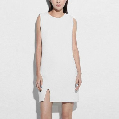 Alana Cut Out Neoprene Dress- White $85.00 http://www.helloparry.com/collections/new-arrival/products/alana-cut-out-neoprene-dress-white