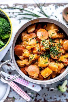 Schwedischer Wursttopf (Möhren und Kartoffeln statt Sellerie nehmen) |GourmetGuerilla.de