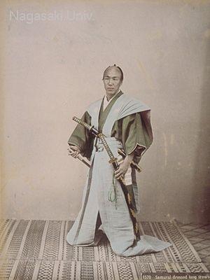SAMURAI DRESSED LONG TROWSER