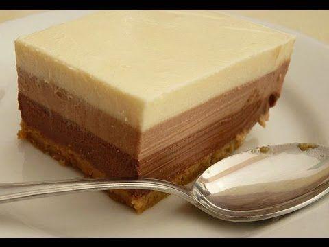 RECETA: TORTA 3 CHOCOLATES PARA LOS AMANTES DEL CHOCOLATE (3 CHOCOLATE CAKE FOR CHOCOLATE LOVERS)