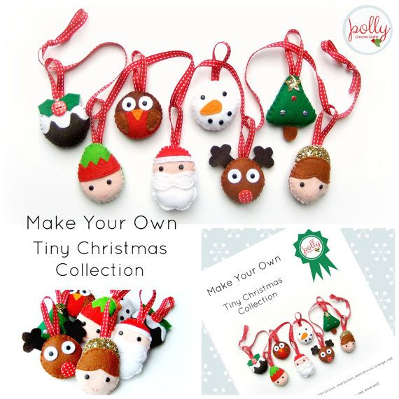 Make Your Own Tiny Christmas Collection Kit
