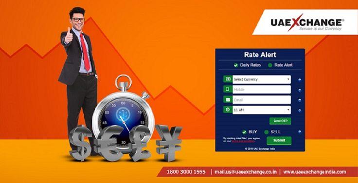 Beat the Volatile Market with #UAEExchange 'Currency Exchange Rate Alert'