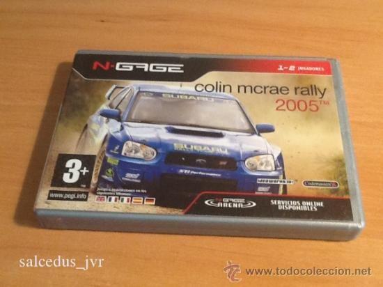 Collin McRae Rally 2005 juego para Nokia Ngage Completo Versión Española