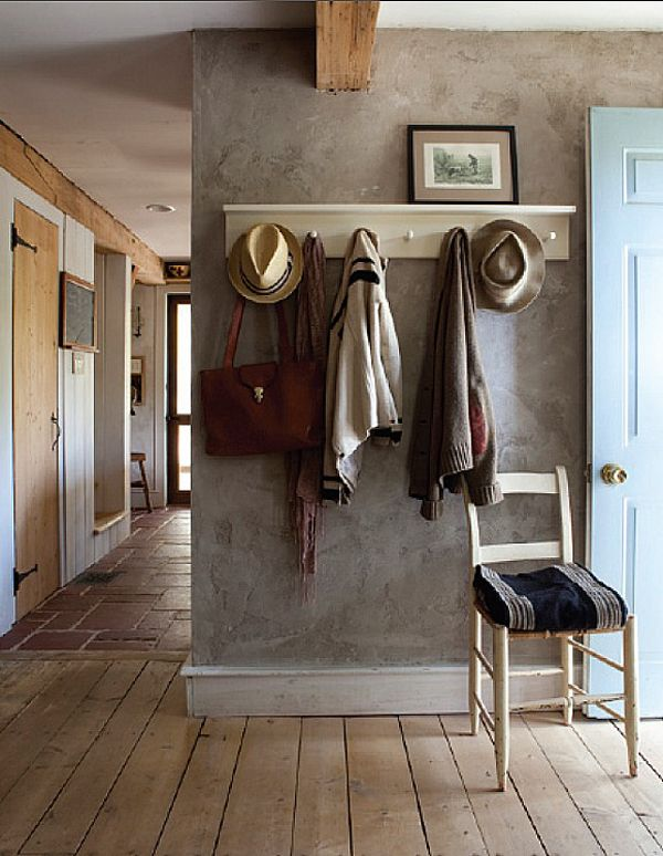 Love the floors, doors and muted colors