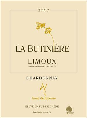 AOC LIMOUX - ANNE de JOYEUSE – LA BUTINIÈRE - 75cl - Blanc