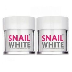 Snail White Cream 50 g. (2 กระปุก)