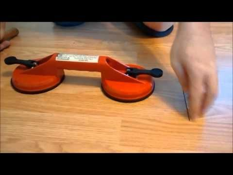 Laminate Flooring Fix When Gapping - YouTube