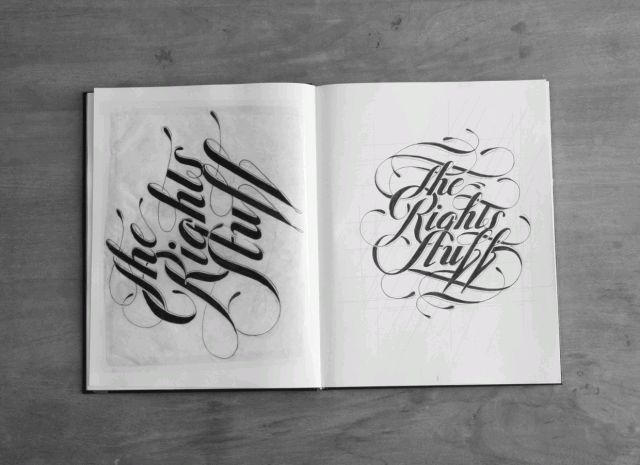 Hand Lettering by Ben Johnston-2