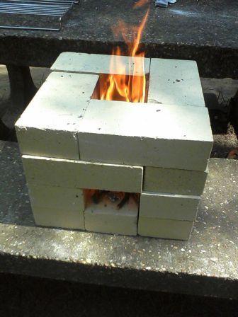 Cool cheap rocket stove