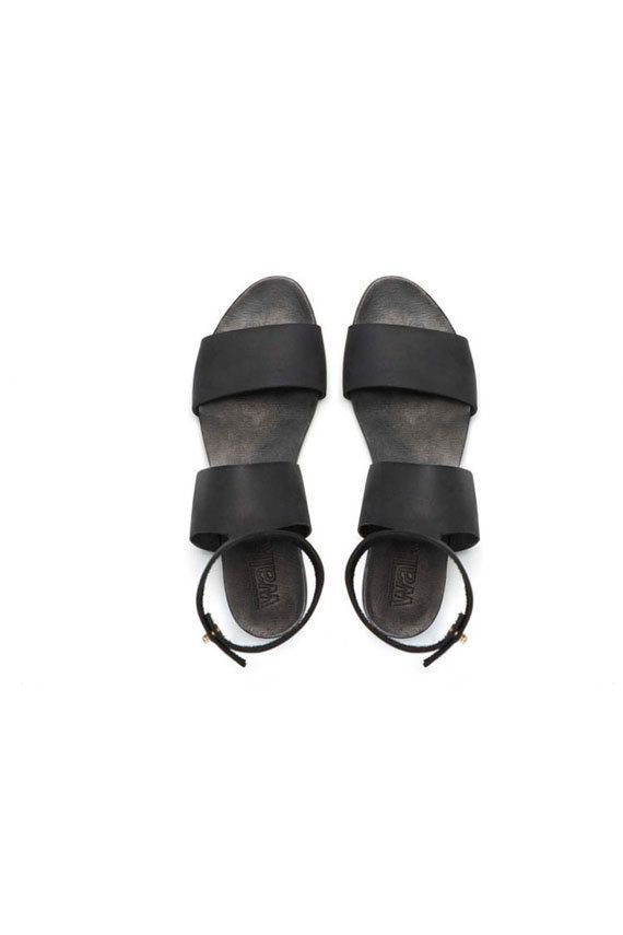 SHOES ON SALE Collar sandals Brown sandals by WalkByAnatDahari, $126.00