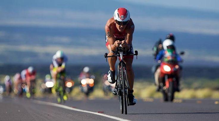Uplace-BMC Triathlon team at the Ironman World Championship in Kona, Hawaii 2015