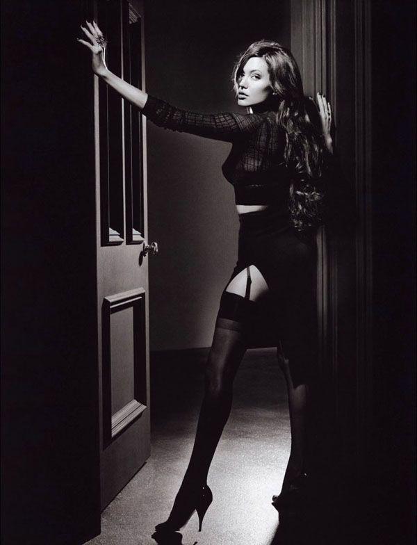 ru_glamour: Angelina Jolie - Michael Thompson Photoshoot