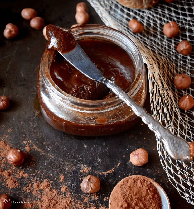 Easy Homemade Cocoa Hazelnut Butter