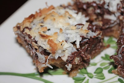 Holly Dolly Bars Recipe http://www.the-not-so-desperate-chef-wife.com/2012/03/desperate-holly-dolly-bars.html #holly #dolly #toffee #coconute #bars #recipe