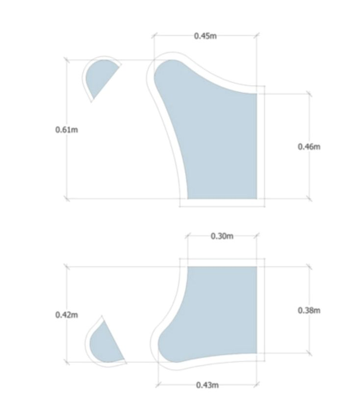 Resultado de imagen para molde de sillon bkf