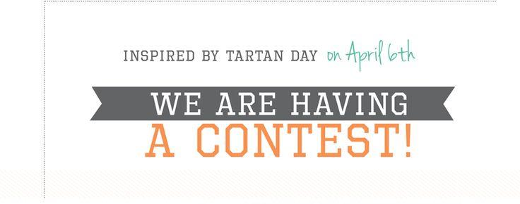 Tartan Day Contest. March 2014 Newsletter