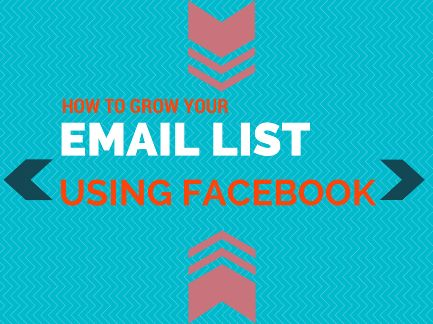 How To Grow Your Email List Using Facebook Ads http://vivamomentum.com/grow-email-list-using-facebook.html #facebookads #emaillist facebookforbusiness