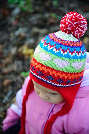 Cheery Scrap Cap ~ Free Pattern