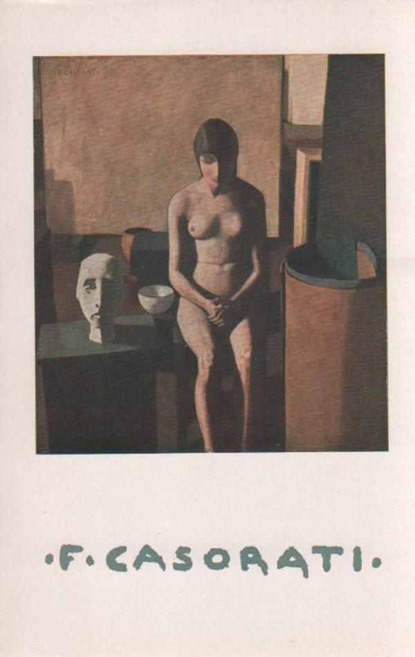 Felice Casorati. Ivrea, Centro Culturale Olivetti (Quaderni d'arte del Centro Culturale Olivetti), 1958