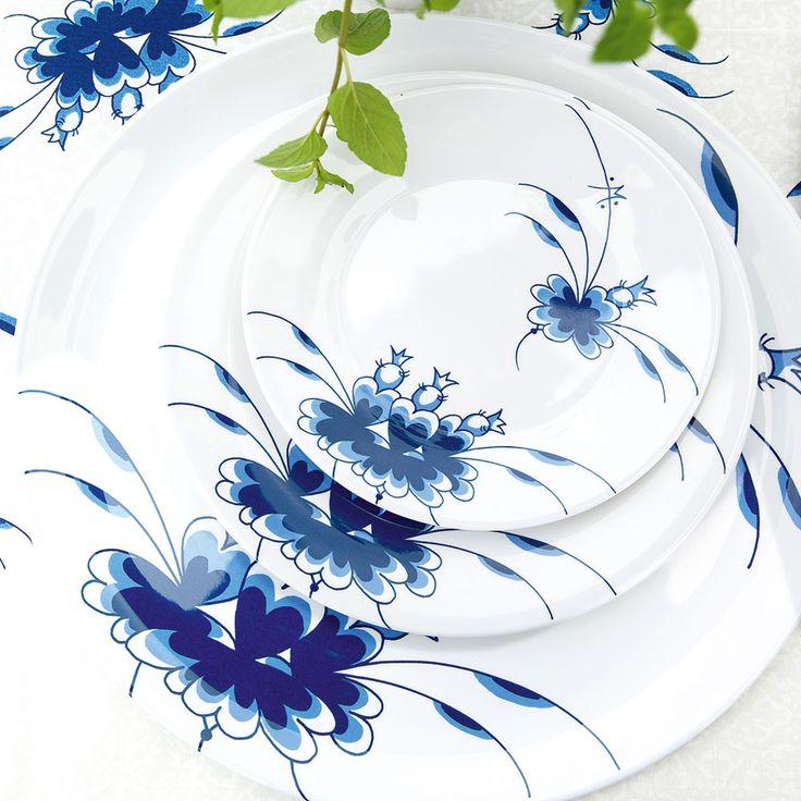 #medusacopenhagen #bluedancers #SS15 #Service #tableware #melamin #rikkitikki