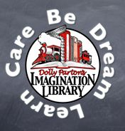 Interesting! Dolly Parton's Imagination Library - free book a month for kids 0-5