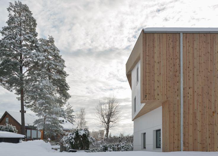 Oslo apartment complex by Various Architects. Modern architecture. Wooden Architecture. Scandinavian Architecture. /  Oslo leilighetskompleks av ulike arkitekter. Moderne arkitektur. Trearkitektur. Skandinavisk arkitektur.