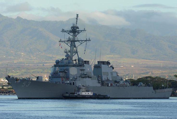 SM-3 intercepts first ballistic missile off Hawaii