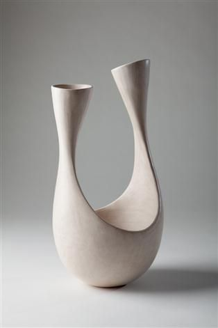 """Tina Vlassopulos is a studio potter based in London producing one off hand built ceramics. """"The pots are all made with an eye to the pos..."""
