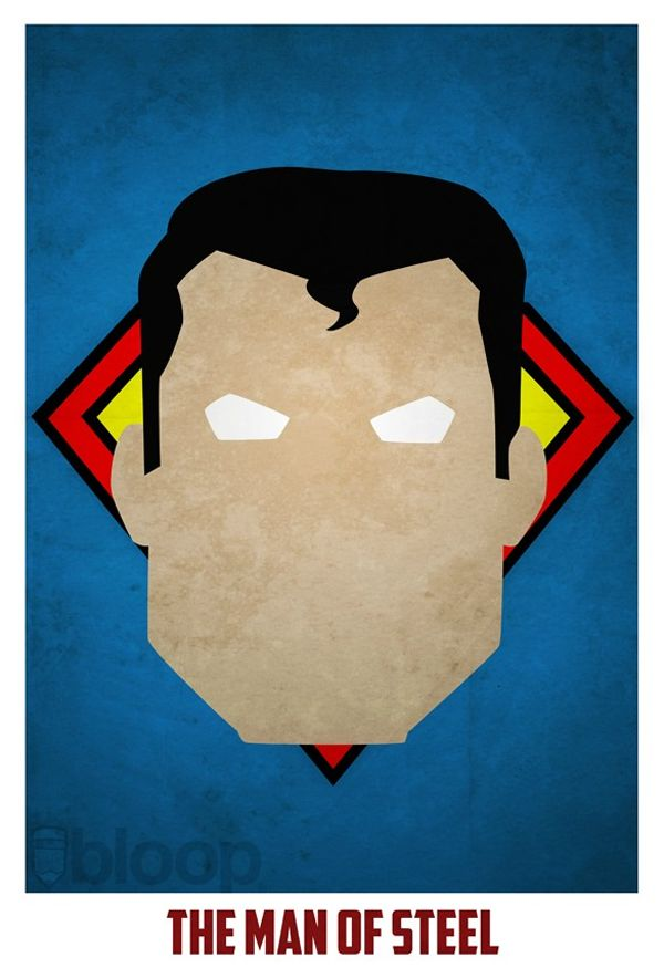 superman superhero posters by Andres Romero pic on Design You Trust