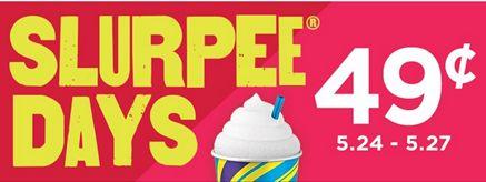Slurpees Just $.49 This Weekend!