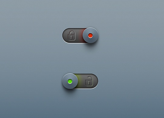 Lock and unlock on/off toggle switches