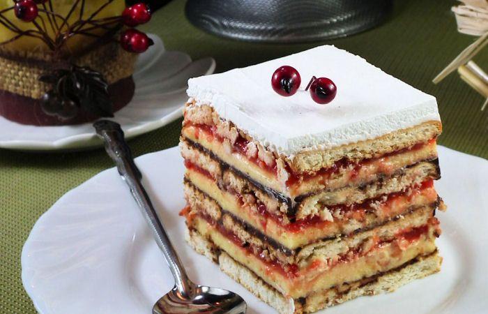 Posna kapri torta-.Minjina kuhinjica