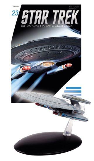 Pré-Encomenda:  Star Trek Official Starships Collection Magazine with Model 23 Nebula Class  Para mais informações clica no seguinte link: http://buff.ly/1iGO9T1  #ToyArt #Eaglemoss #StarTrek