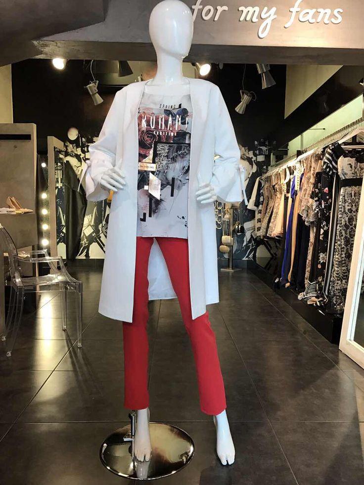 Ανανεώστε την γκαρνταρόμπα σας με casual και επίσημα γυναικεία ρούχα από το Primadonna. http://www.primadonna.com.gr