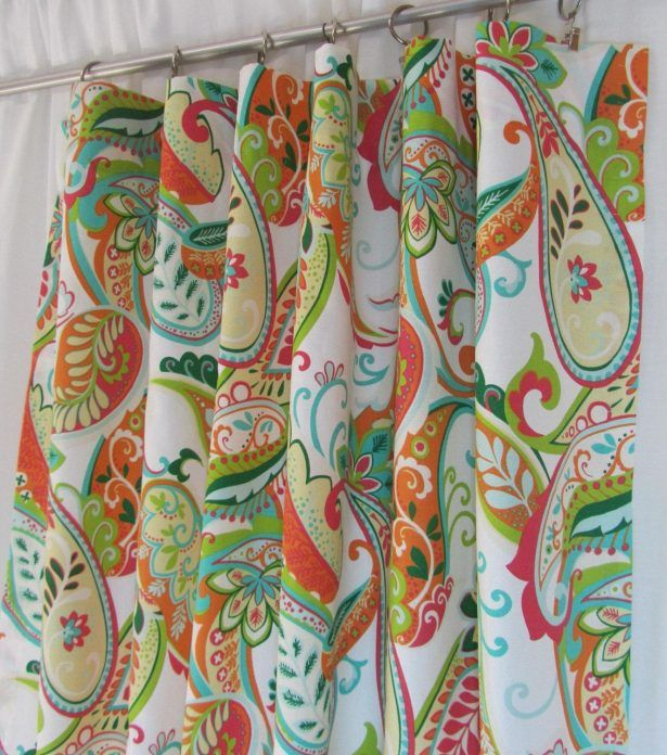 Multi Colored Curtains