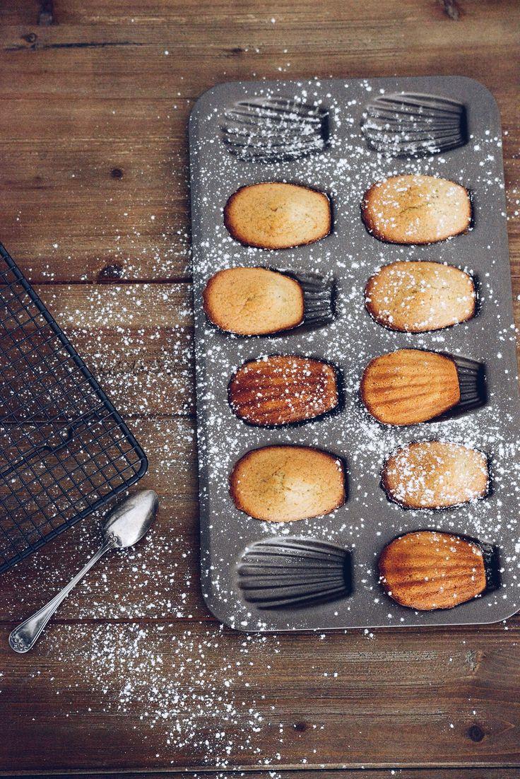Madeleines gingembre érable (sans gluten sans lactose) - Vanessa Pouzet #recette #madeleine