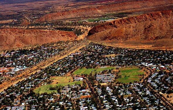 Alice Springs, Northern Territory.