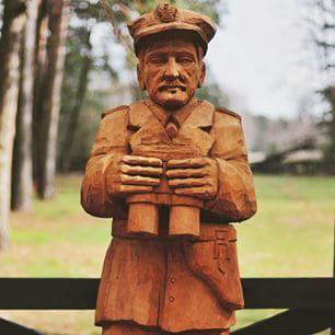 kpt. Wacław Rejmak Ostoja  #sculpture #escultura #soldier #polish #hero #AK #wwii #ww2 #worldwar2 #nikontop  #nikon_photography_ #vscolublin #ourpoland #visitpoland #loves_poland #bestofpoland #igerspoland #igerslublin #instagrampl #polski #żołnierz #bo