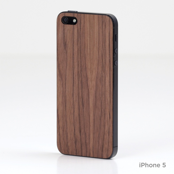 iPhone wood cover by Lazerwood.
