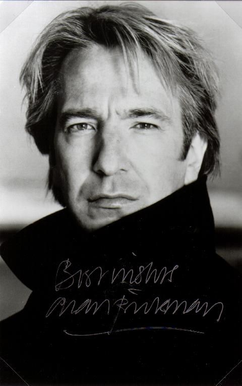 Alan rickmanBut, Severus Snape, Favorite Celebrities, Alan Rickman, Alanrickman, Movie, Harry Potter, Actor, People