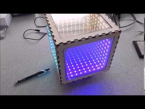 How to make an infinity mirror box - All  https://www.leddancefloor.info