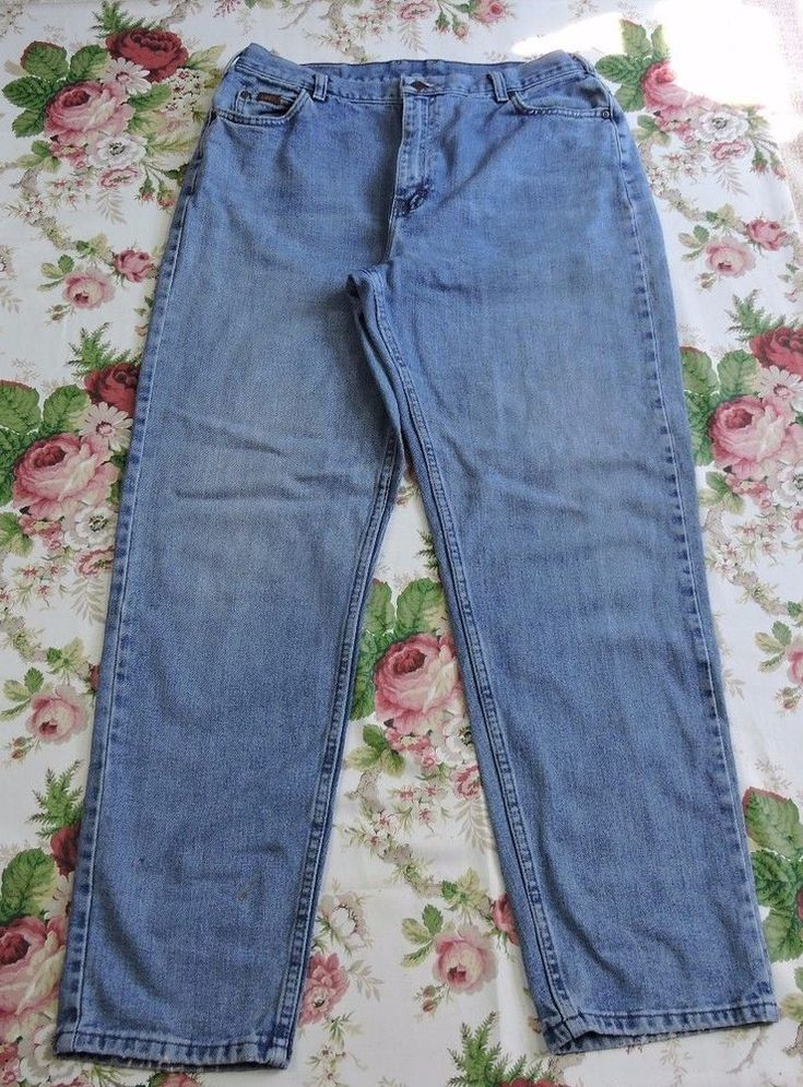Lee Women Vintage 90's Mom Light Blue Jeans Size 14 M #Lee #StraightLeg