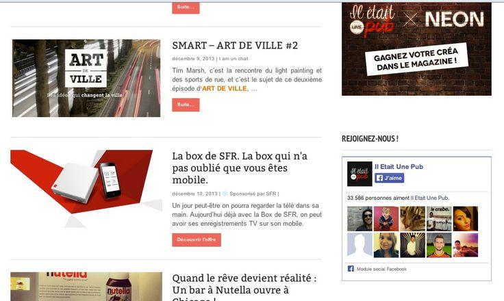 "On test le ""Native Advertising"" chez @Jean-Baptiste Delame. Première campagne : SFR."