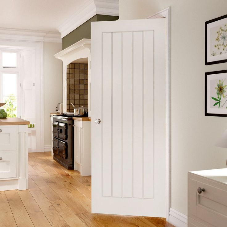Ely White Primed Door, 1/2 Hour Fire Rated
