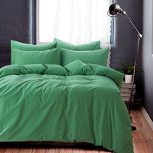 Minimalism Green Bedding Teen Bedding Kids Bedding Scandinavian Design Bedding Duvet Cover Set Twin Size ** Click on the image for additional details.