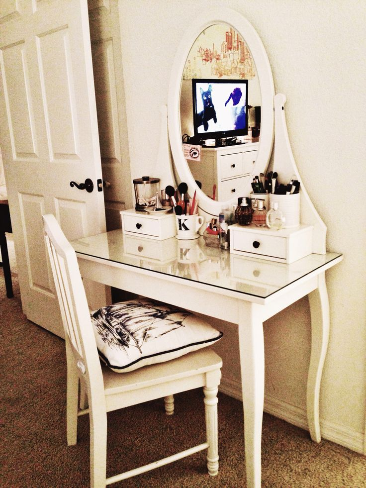 my new hemnes dressing table from ikea yay hamnes ikea pinterest hemnes dressing. Black Bedroom Furniture Sets. Home Design Ideas